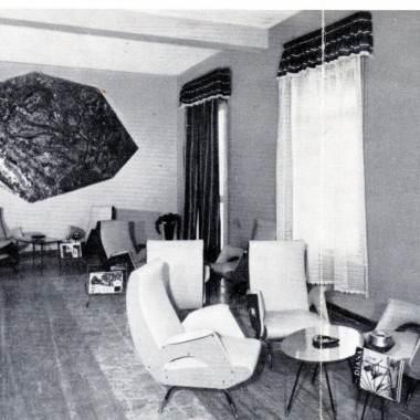 L'hotel Missouri nella riviera Romagnola anni 50