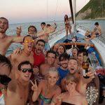 Gita con amici in barca a vela a Bellaria